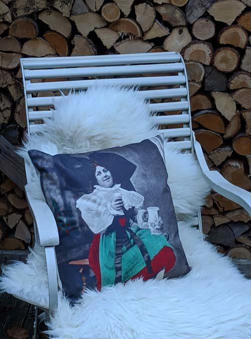 Kissen Motiv Hanauer Grittla - Kollektion Tradition