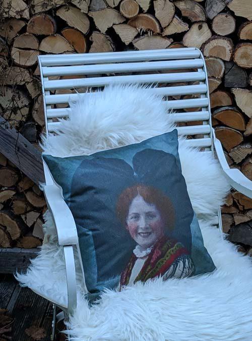 Kissen Motiv Hanauer Liesel - Kollektion Tradition