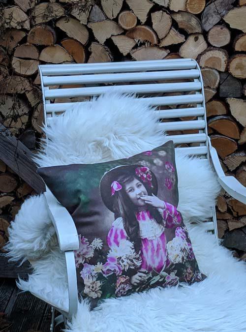 Kissen Motiv Handkuss Pop Art - Kollektion Pop Art