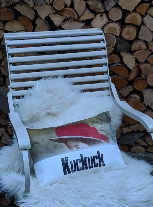 Kissen Motiv Kuckuck klein - Kollektion Tradition