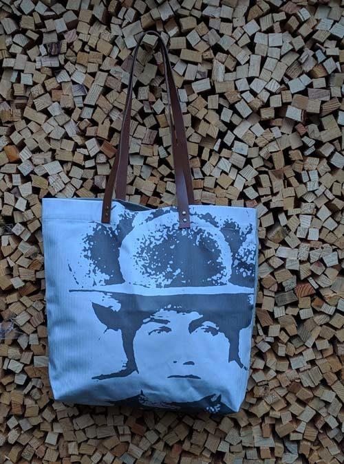 Schopper Motiv Bollenhut Pop Art grau - Kollektion Pop Art