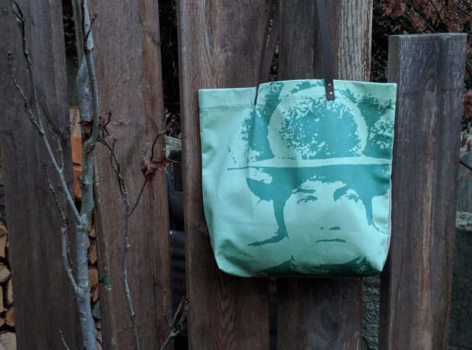 Schopper Motiv Bollenhut Pop Art grün - Kollektion Pop Art