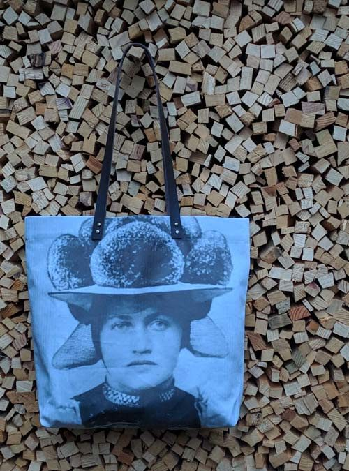 Schopper Motiv Bollenhut grau - Kollektion Tradition