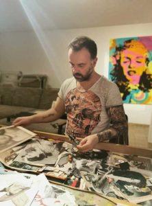 Holger Zimmermann at work