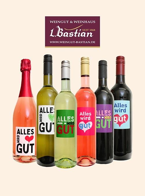 Weinerlebnis Alles Wird gut - Weingut Bastian